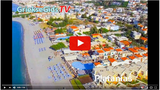 Video Kreta Platanias