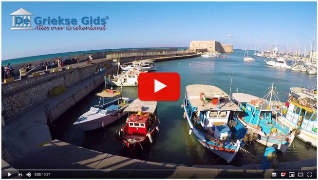 Heraklion haven video
