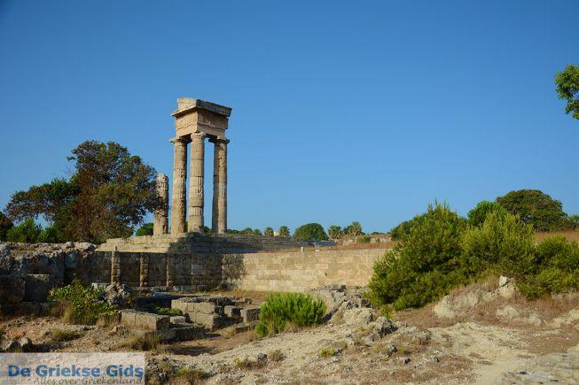 Rhodos oude akropolis