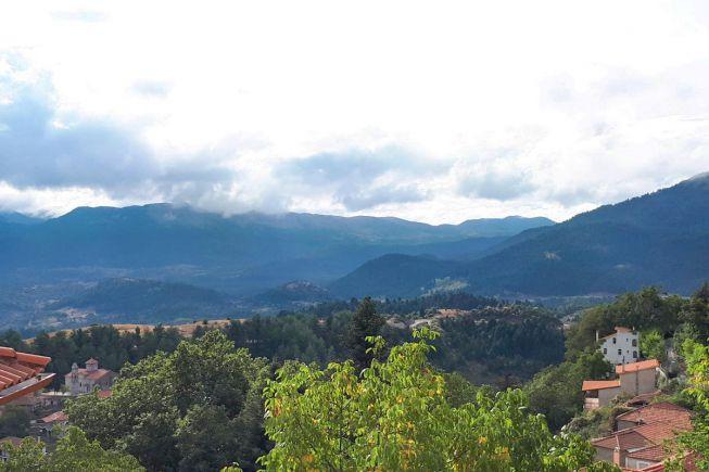 Magoulianana Peloponnesos Menalon trail