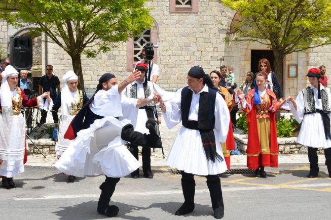 Traditionele dans in Stemnitsa