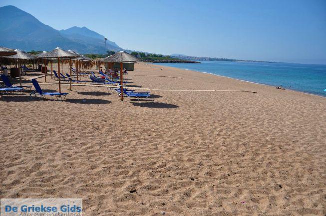 strand bij Kyparissia