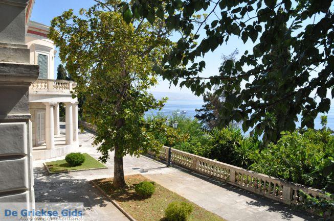 Uitzicht vanaf Mon Repos paleis Corfu