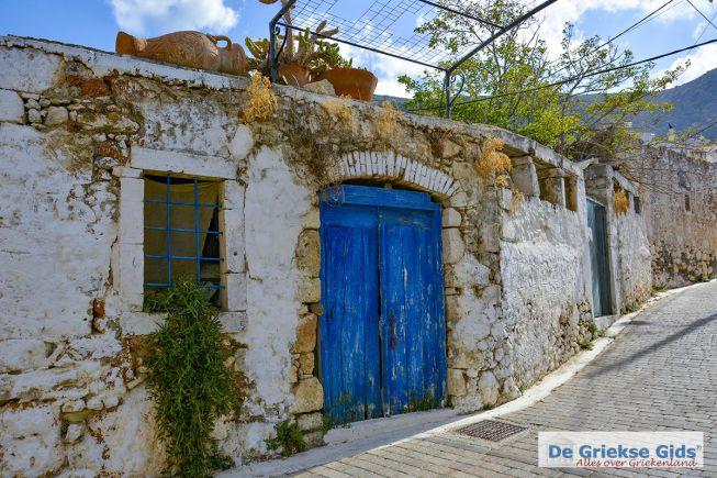 Koutouloufari Kreta blauwe deur