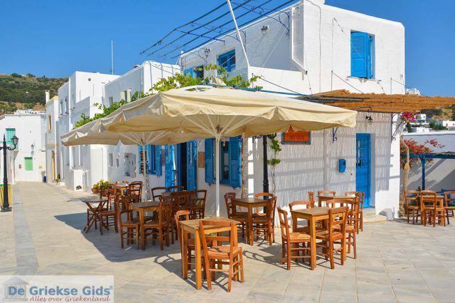 Lefkes op Paros Cycladen