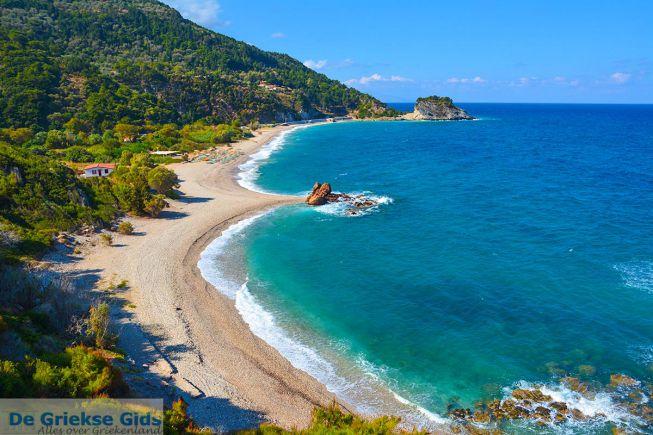 Strand Potami Samos - Egeisch eiland