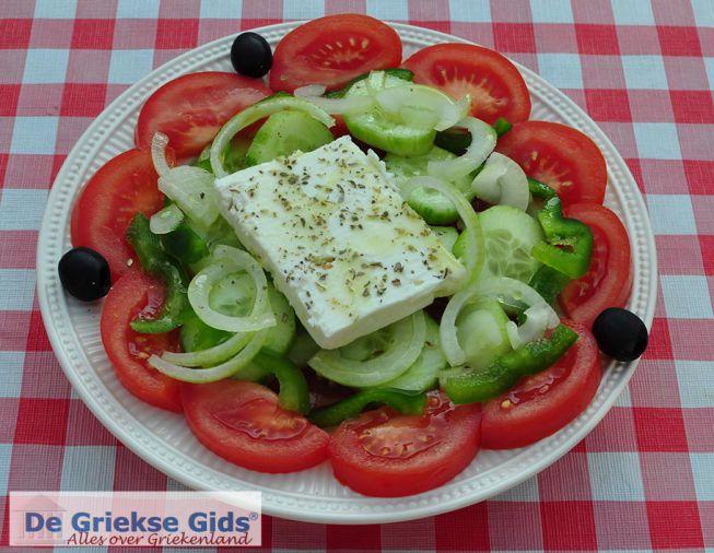 Griekse salade, Choriatiki