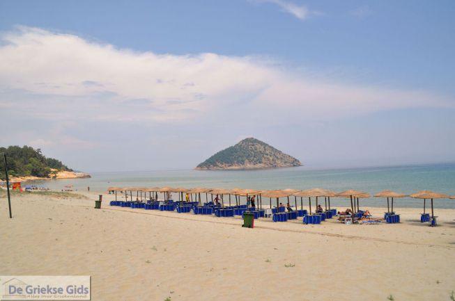 Kinira Paradise beach Thassos