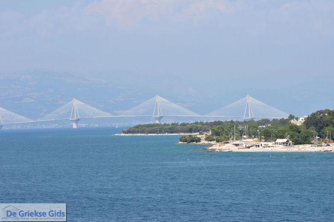 Rio Antiriobrug vanaf Peloponnesos