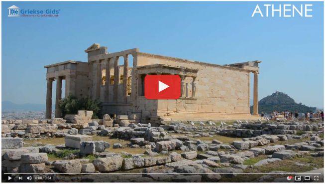 Akropolis Athene video