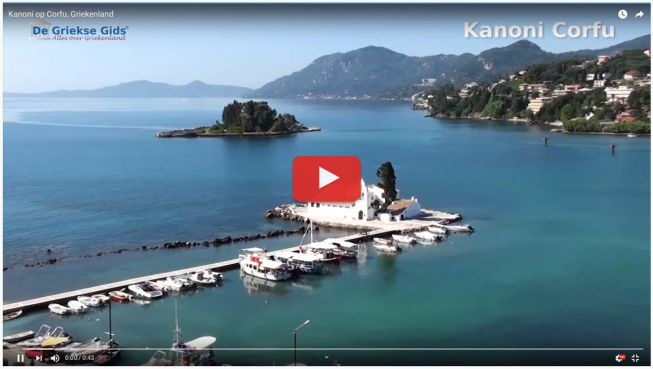 Kanoni Corfu video