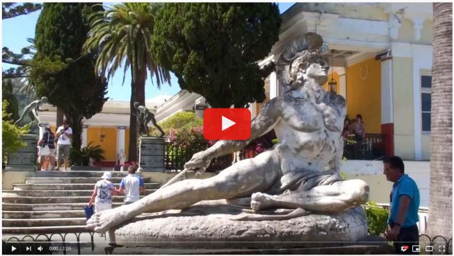 Achilleion video
