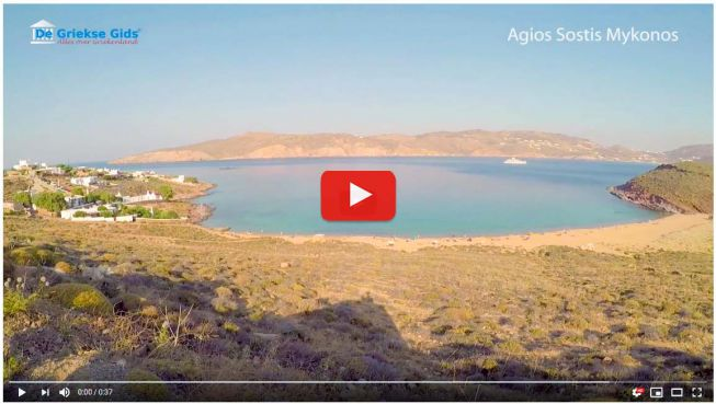 Agios Sostis Mykonos video