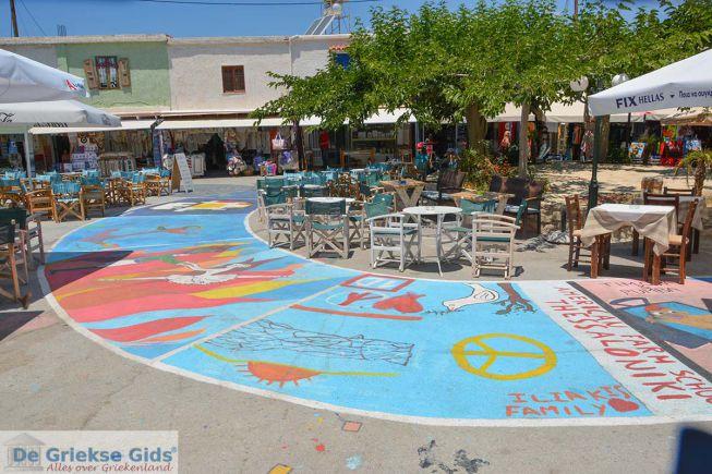 Matala dorp op Kreta