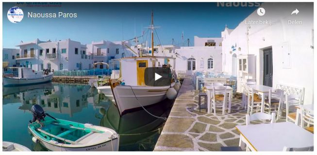 Naoussa Paros Video