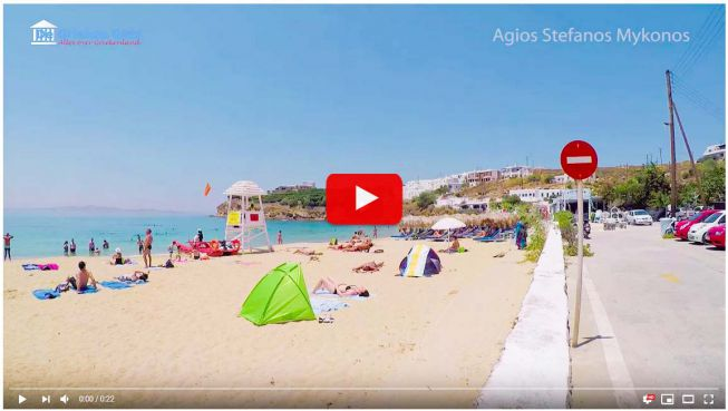 video Agios Stefanos Mykonos