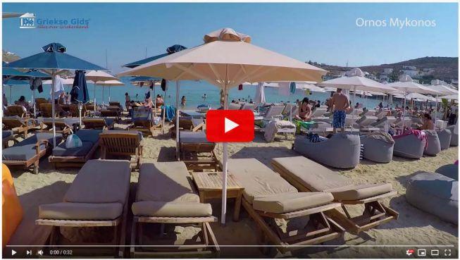 Ornos Mykonos video