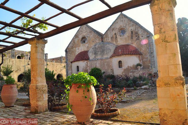 Arkadi klooster bij Adele