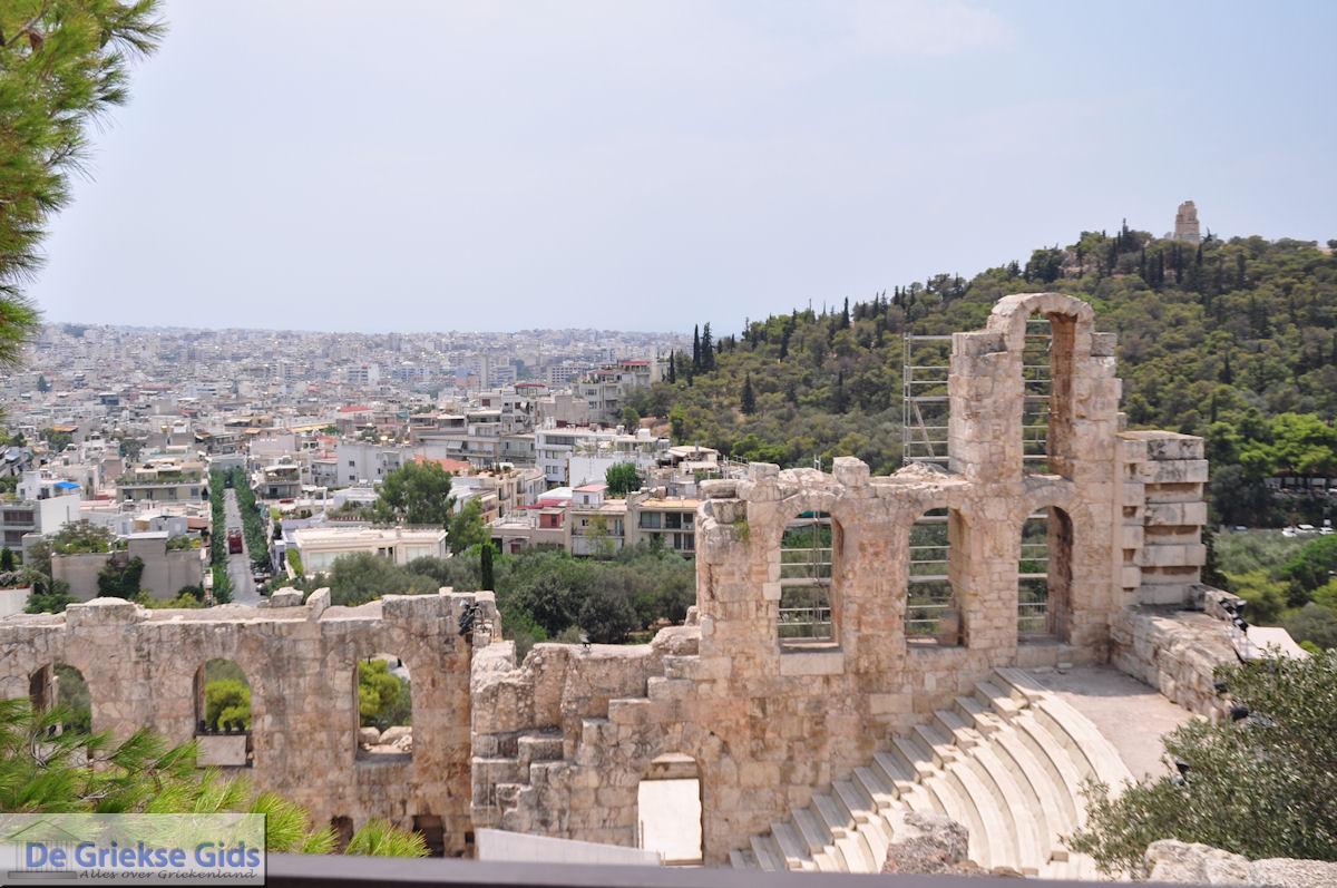 foto Herodes Atticus Theater nabij Akropolis Athene foto 2