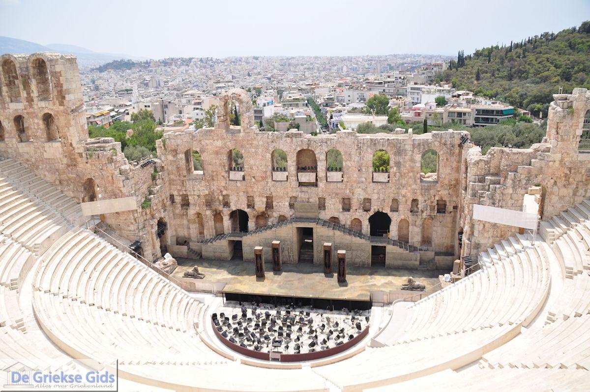 foto Herodes Atticus Theater nabij Akropolis Athene foto 3