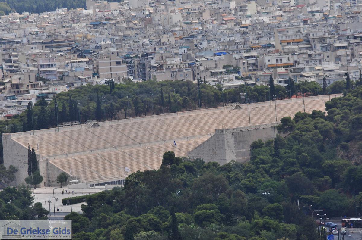 foto Het Atheense oud Olympisch stadion