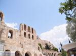 Herodes Atticus Theater nabij Akropolis Athene foto 1 - Foto van De Griekse Gids