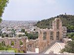 Herodes Atticus Theater nabij Akropolis Athene foto 2 - Foto van De Griekse Gids
