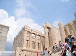 De propyleeen van de Akropolis van Athene foto 1 - Foto van De Griekse Gids