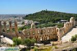 Herodes Atticus Theater, aan de overkant Philopapou | Athene foto 1 - Foto van De Griekse Gids