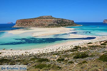 Balos beach Kreta - West Kreta - Foto 12 - Foto van De Griekse Gids