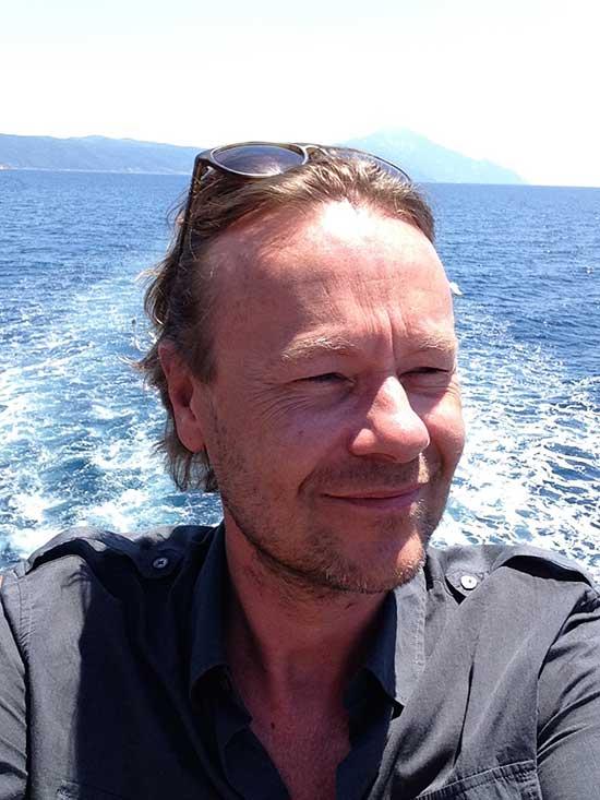Gijs Staverman in Griekenland