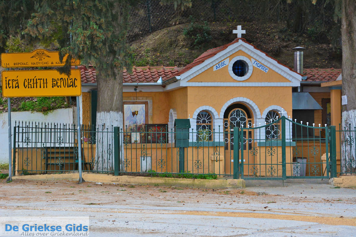 foto Agios Georgios kapelletje bij Aliakmon rivier | Imathia Macedonie