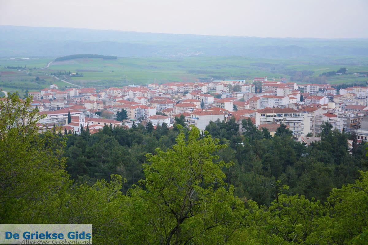 foto Uitzicht over de stad Kilkis vanaf de Agios Georgios heuvel | Macedonie 5