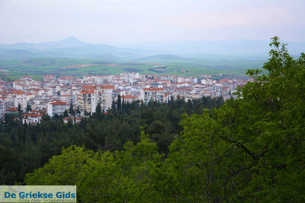 ... de Agios Georgios heuvel   Macedonie 6 - Foto van De Griekse Gids