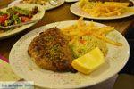 Gevulde bifteki bij Restaurant Erato in Litochoro | Pieria Macedonie - Foto van De Griekse Gids