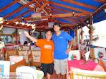 Marinos, de eigenaar van Restaurant Acropolis - Marinos, the owner of Restaurant Acropolis Nr 1 - Foto van De Griekse Gids