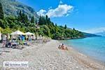 Pantokrator vanaf het strand van Barbati op Corfu - Foto van De Griekse Gids