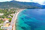 Luchtfoto Ypsos Pyrgi Pantokrator Corfu - Foto van De Griekse Gids