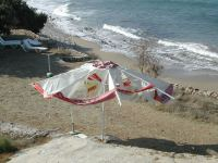 Karpathos. Parasol bij Kostas