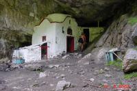 Kerkje Aghio Spileo - Heilige grot - Foto van Harrie Damen