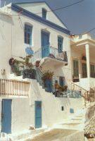 Traditioneel huisje Kalymnos - Foto van W. van Zadelhoff