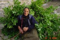 Dame in Mikro Papigo (Papingo) in Epirus - Foto van Harrie Damen