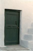 Typisch deurtje Skyros (Skiros) - Foto van Leon Beekwilder