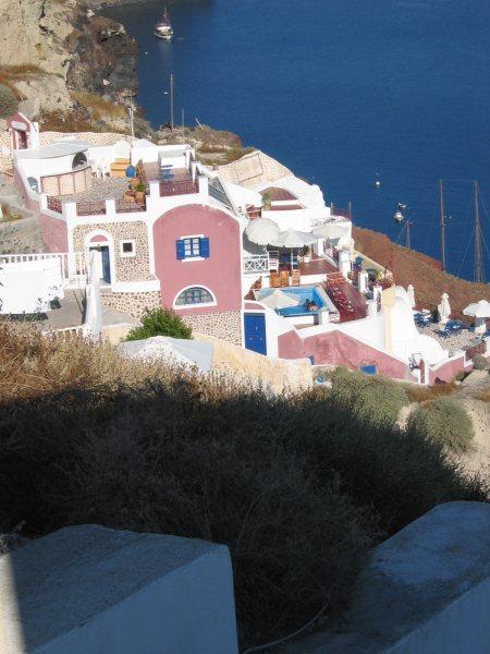 Oia Santorini. Foto van Joop van Os
