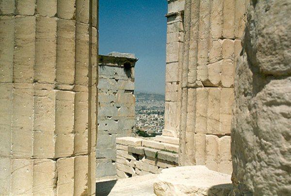 Akropolis in Athene. Foto van Bas Hessels.