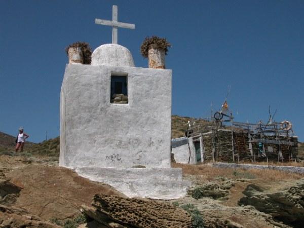 Kapel Folegandros Foto van Peter-Paul de Rijcker.