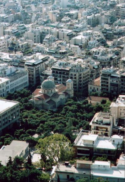 Kerk in Athene