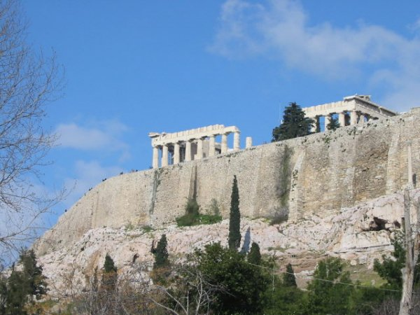 Parthenon Akropolis in Athene
