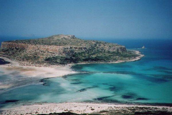 Fantastisch Balos beach bij Gramvoussa