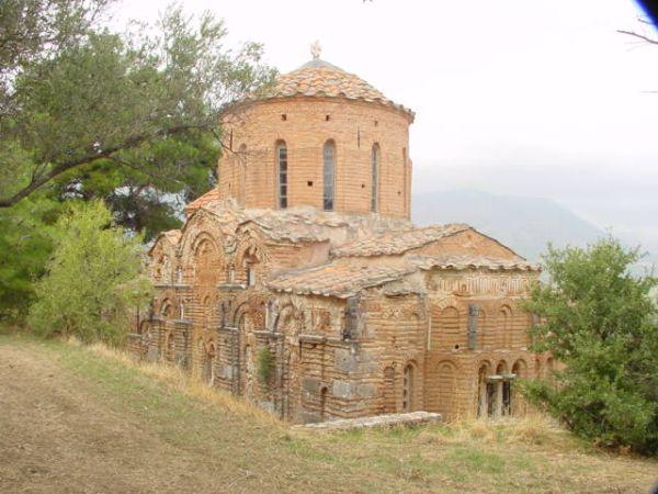Byzantijnse kerk op Chios